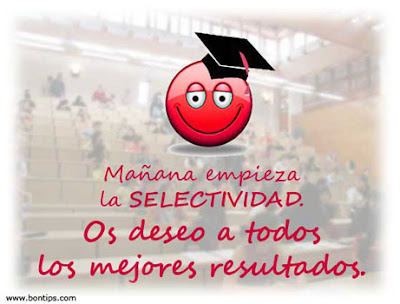 Best Wishes for Selectividad