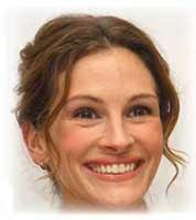 Julia Roberts's Duchenne smile