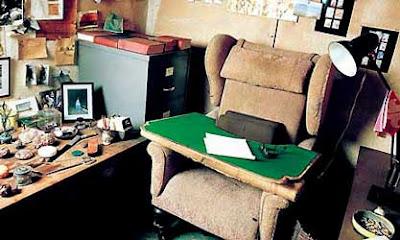 Roald Dahl's study