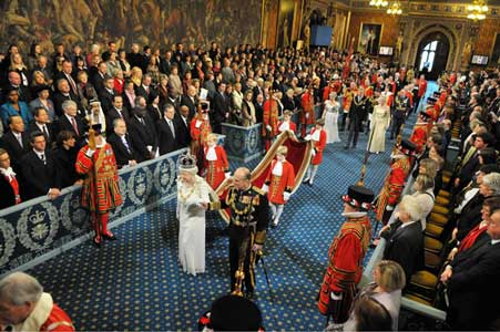 Queen in House of Lords