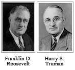 Roosevelt - Truman