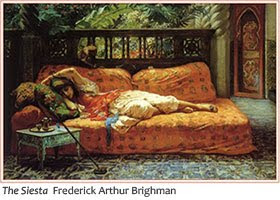 Siesta by Bridgman