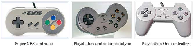 console controlers