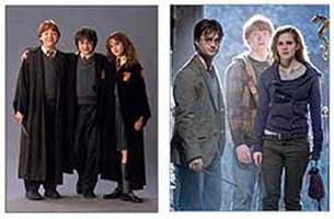 Harry Potter and friends 2001-2011