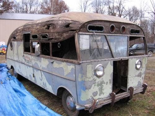 not just another rusty ride classic rv for restoration