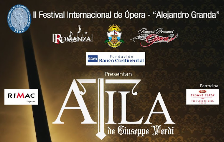 "II FESTIVAL INTERNACIONAL DE OPERA ""ALEJANDRO GRANDA"""