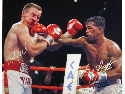 Micky Ward, ,junior welterweight professional boxer