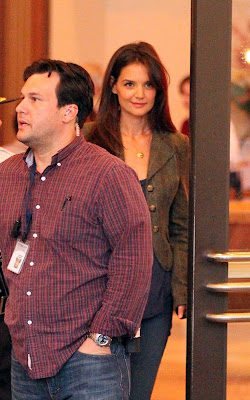 Katie Holmes Jack  Jill on Katie Holmes Filming Scenes For Her New Movie  Jack And Jill  Still
