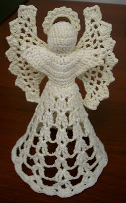 Crochet Angel : Free Crochet Angel Patterns - Barb?s Free Crochet Patterns