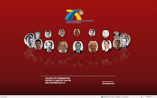 Colégio de Presidentes 2010-11