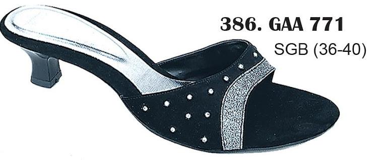 Sandal Cewek Kulit 386