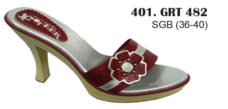 Sandal Cewek Kulit 401