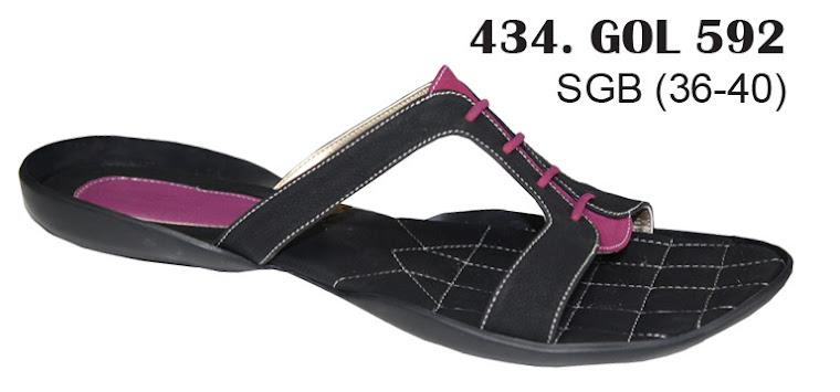 Sandal Cewek Kulit 434