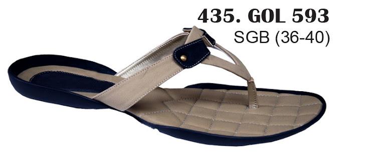 Sandal Cewek Kulit 435