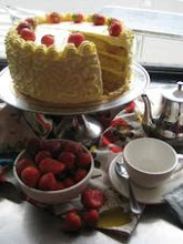 tea party cake