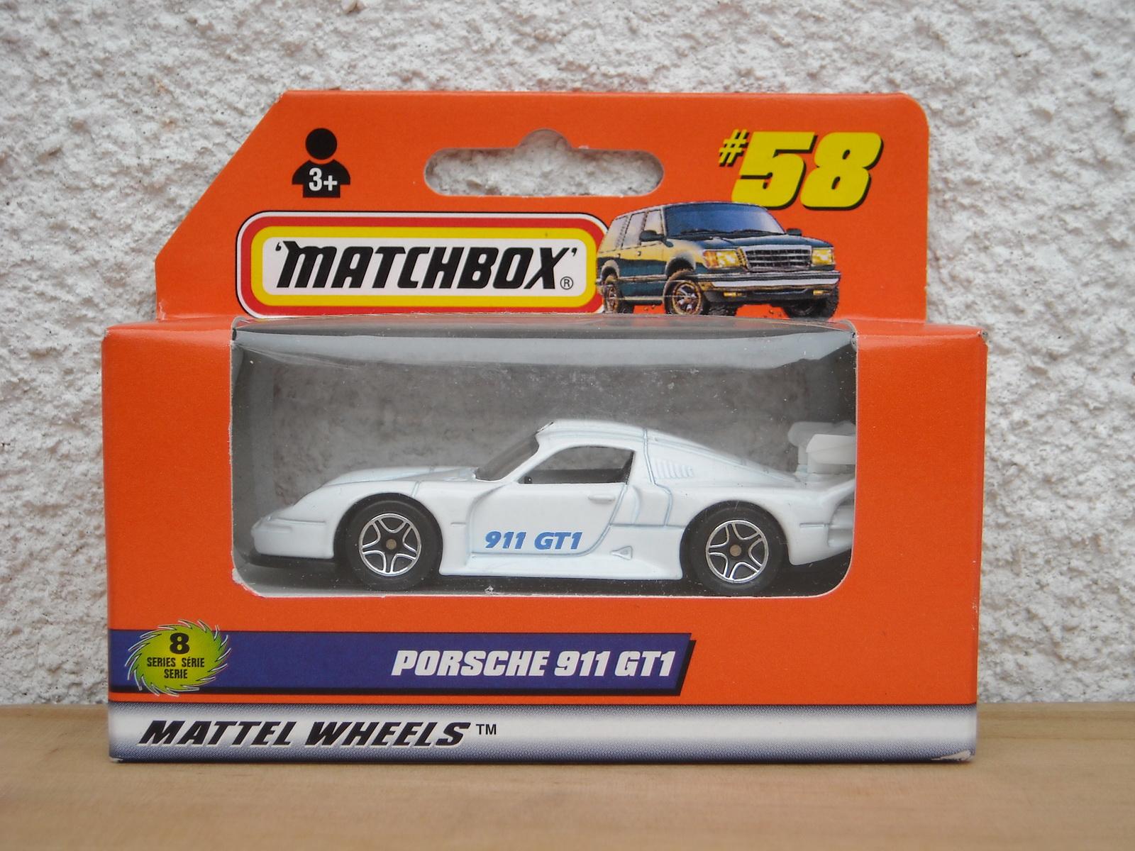 matchbox memories matchbox mb 58 porsche 911 gt1. Black Bedroom Furniture Sets. Home Design Ideas