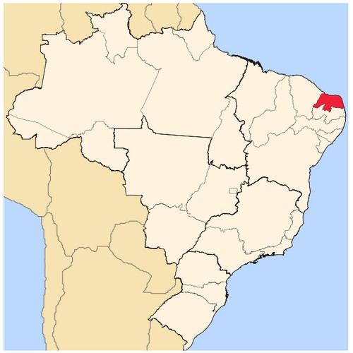 Map Rio Grande do Norte