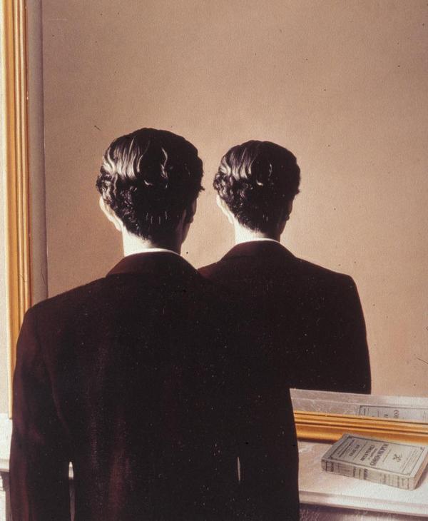 Presentaci n del seminario la angustia de jacques lacan - Magritte uomo allo specchio ...