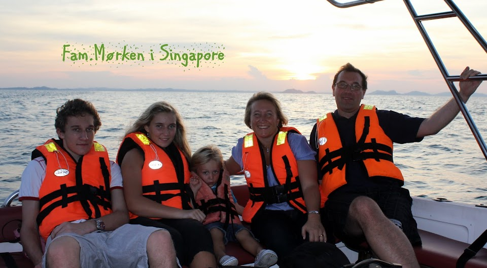 Fam. Mørken i Singapore