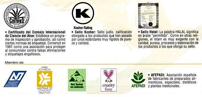 Sellos y Certificados de Productos Forever