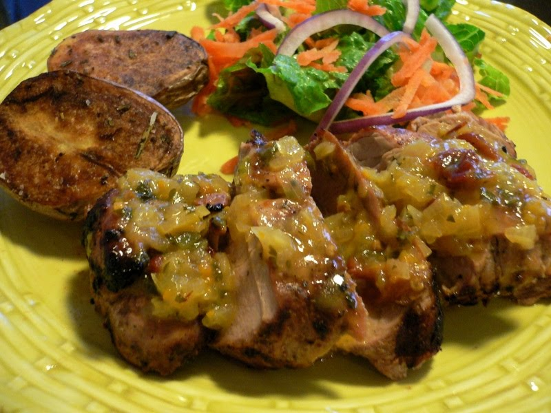 Grilled Pork Tenderloin with Orange-Chipotle Sauce - Lake Lure Cottage ...
