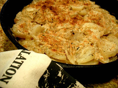 how to cook scalloped potatoes faster