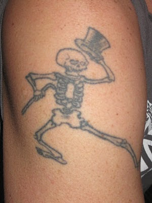 Grateful Dead Tattoos: GD Tattoo #55 Fives for Friday