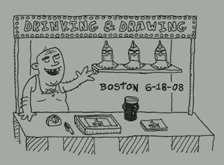 Drinking and Drawing Boston II, Video
