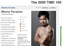 manny pacquiao time 100 most influential @ sagada igorot