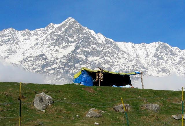 Dharamshala, mcleod ganj Snowline