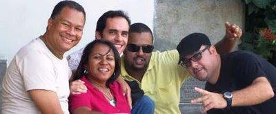 Geraldo Seara, Cristiane Britto, Armando Castro, Marcus Leone e Peterson Azevedo.