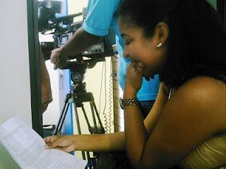 Mariana Souza - produtora. Foto: Geraldo Seara.