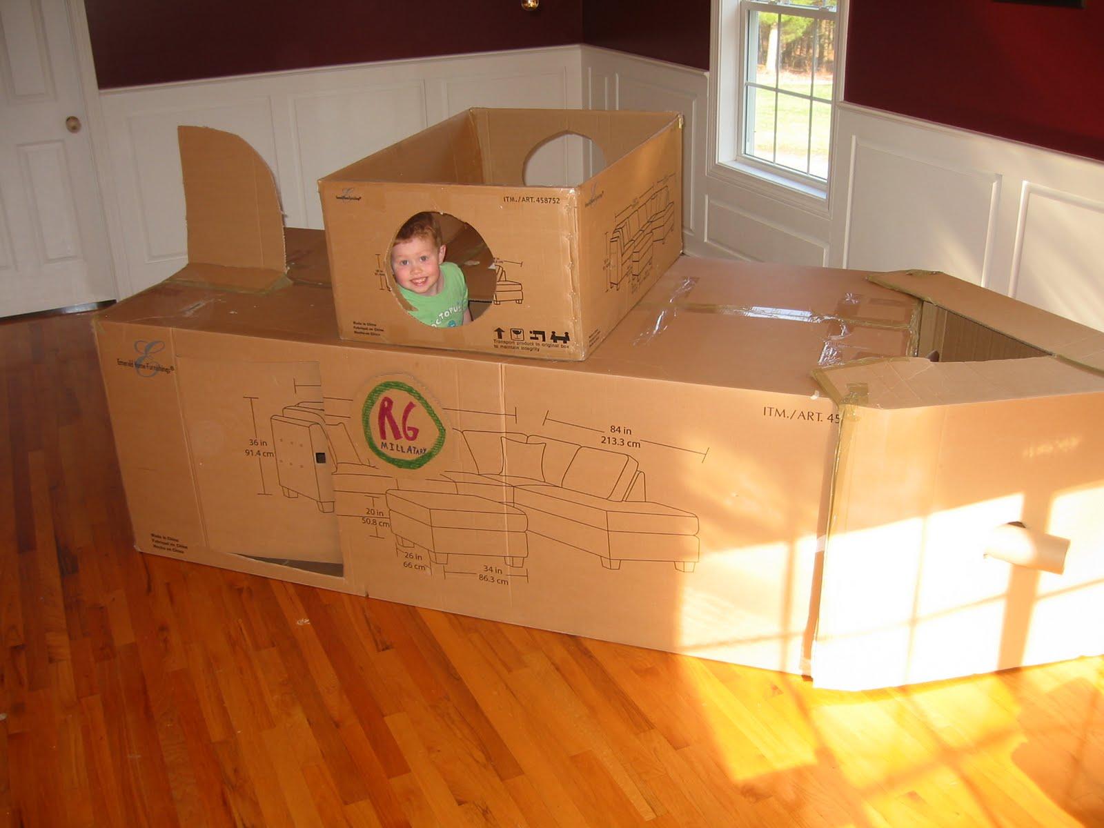 Как сделать лодку из картона своими руками