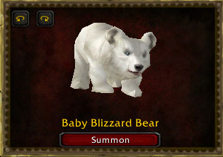 WoW baby Blizzard bear