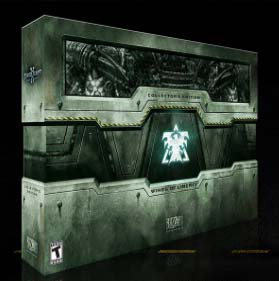 StarCraft II Collector's Edition box