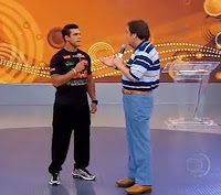 Vitor Belfort no Domingão do Faustão