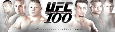 UFC 100 - Card Completo