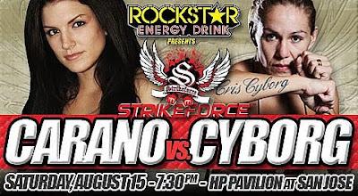 Strikeforce - Gina Carano vs Cris Cyborg