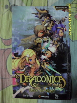 Dragonica Online Collector's Item Sticker