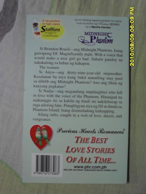 Midnight Phantom Pocketbook Back Cover