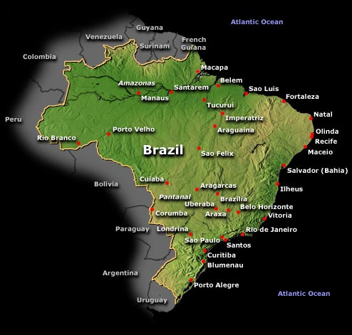 Brazil: History, Geography, Government, and Culture — Infoplease.com