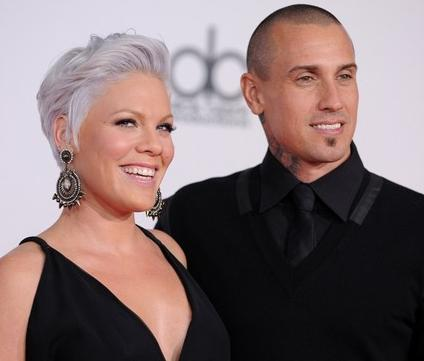 Singer Pink, who is currently pregnant with her husband Carey Hart's first ...