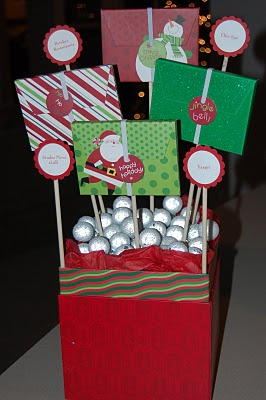 Simply creative insanity gift card tree decorative gift box foam block decorative balls dowel rods gift card holders negle Choice Image