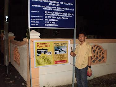 Pemasangan Banner seluruh Malaysia