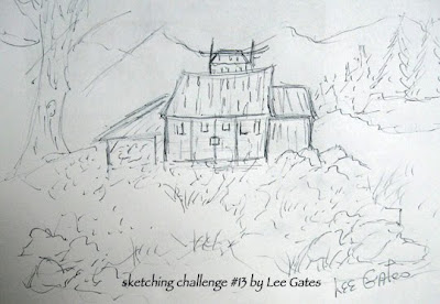 barn pictures sketch