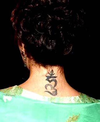 Tag : Alyssa milano tattoo, celebrity tattoo, alyssa milano religious tattoo