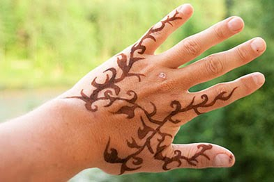 Herbal tattoo temporary and painless tattoo tattoo design for Painless permanent tattoos