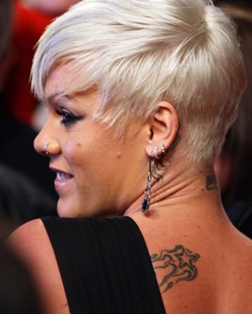 Celebrity pink tattoo designs