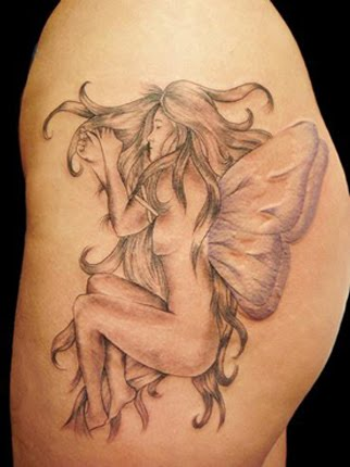 fairy tattoo a stunning tattoo tattoo design. Black Bedroom Furniture Sets. Home Design Ideas