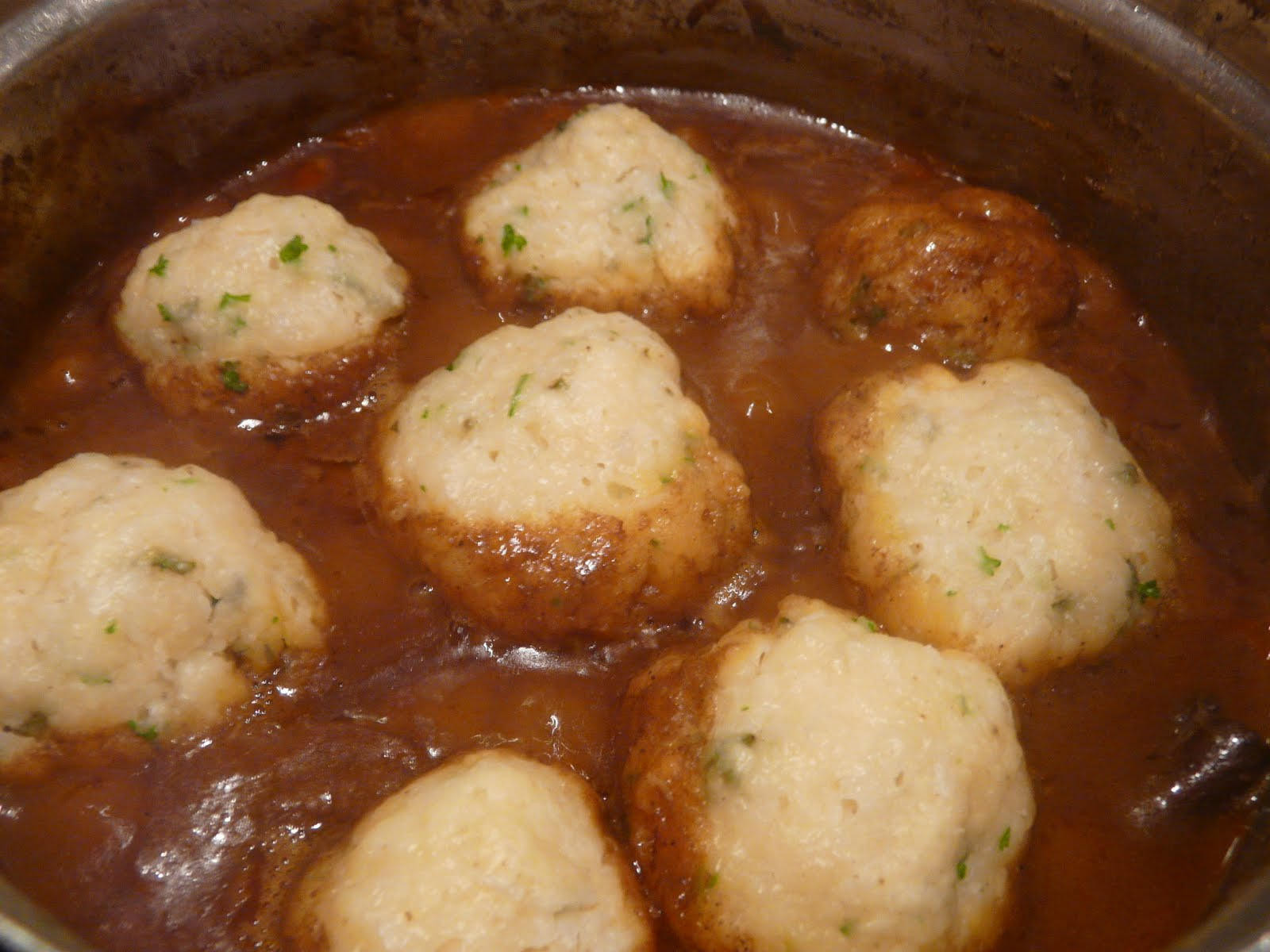 Live, love, laugh and eat.: Stew and Dumplings (with speculaas spices ...